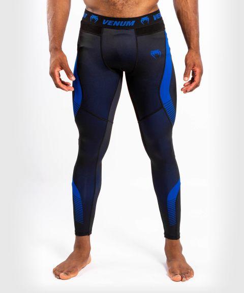 Venum No Gi 3.0 紧身裤 - 黑色/蓝色