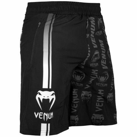 Venum Logos 训练短裤 - 黑/白