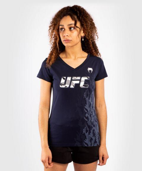 UFC VENUM AUTHENTIC格斗周女士短袖T恤 -  蓝色