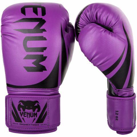 Venum Challenger 2.0 拳击手套 - 紫/黑