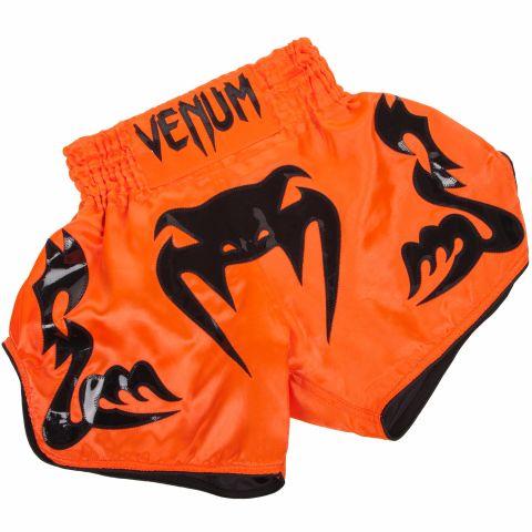 Venum Bangkok Inferno泰拳短裤-新橙色/黑色