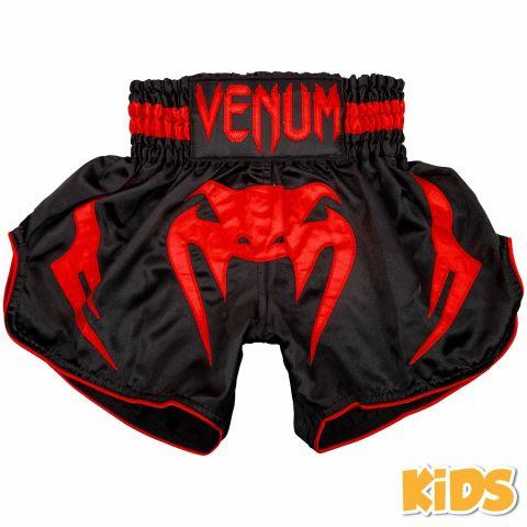 Venum Bangkok Inferno 儿童泰拳短裤 - 黑/红