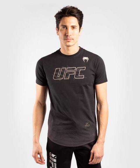 UFC VENUM AUTHENTIC格斗周男士短袖T恤 - 黑色的
