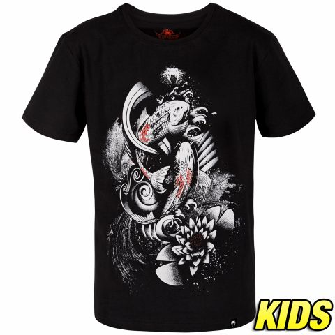 Venum Koi 2.0 T恤 - 儿童 - 黑/白