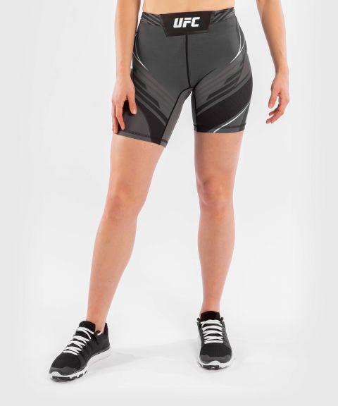 UFC VENUM AUTHENTIC搏击之夜女士VALE TUDO压力短裤-长款 - 黑色的