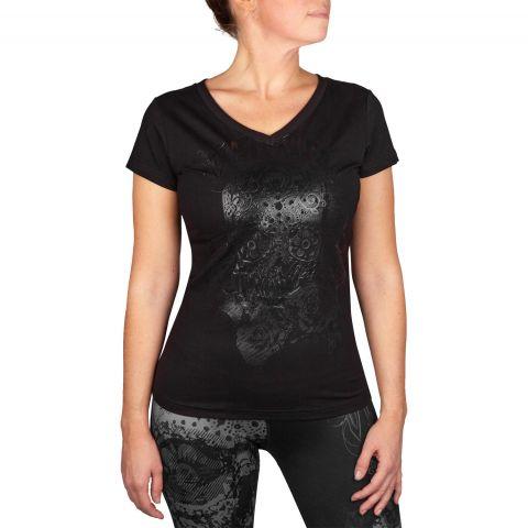 Venum Santa Muerte 3.0 T恤 - 黑/黑 - 女款