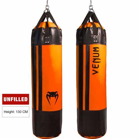 Venum Hurricane 沙袋 - 150厘米 - 未填充 - 黑/荧光橙