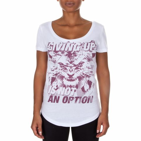Venum Givin' T-shirt - White/Light Lilac