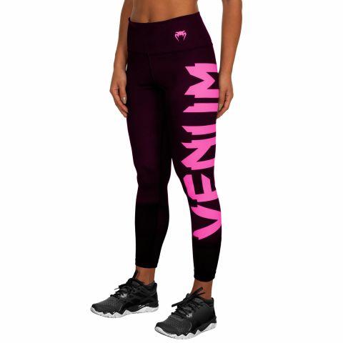 Legging Femme Venum Giant - Noir/Rose
