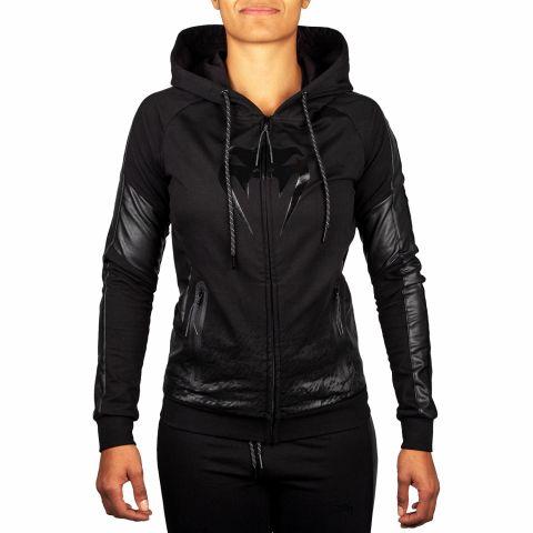Venum Camoline 2.0 帽衫 - 黑/黑 - 女款 - 专属