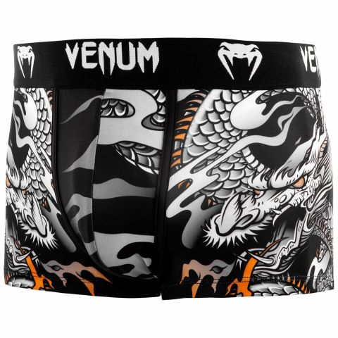 Venum Dragon's Flight 平角裤 - 黑/白
