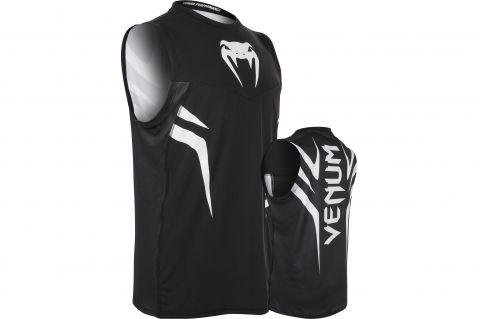 Venum Sharp 2.0 速干T恤-黑色/灰色
