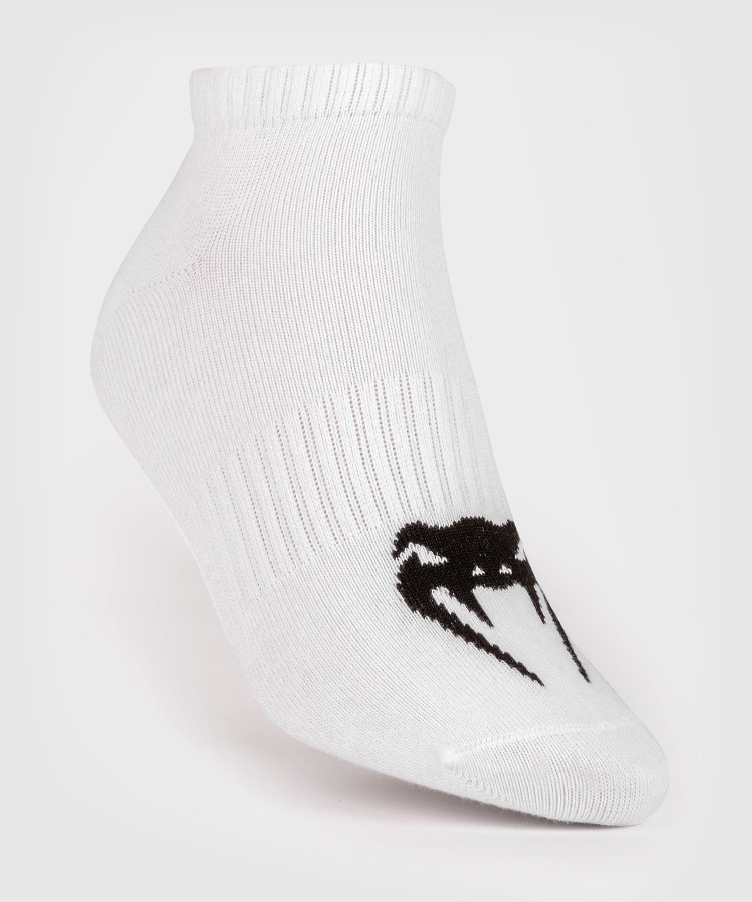 Venum Classic 浅口袜子三双 - 白色/黑色