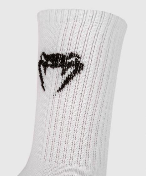 VENUM Classic 中筒袜子 - 白色/黑色